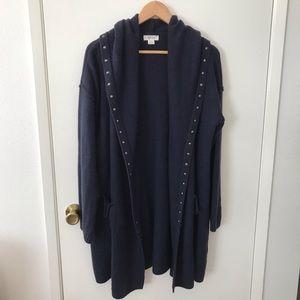 Style & Co long hoodie cardigan